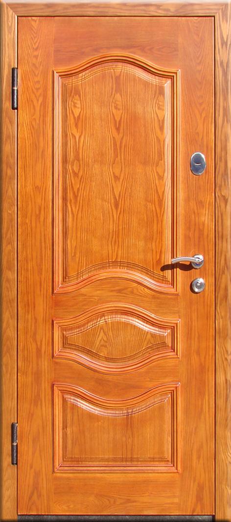 производство металлическая дверь шпон